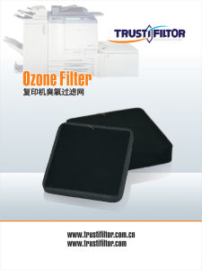 Replacement Filter Ozone Catalyst for Copy Machine Laser Printer pictures & photos