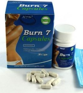 Burn 7 Slimming Weight Loss Capsules Health Food pictures & photos