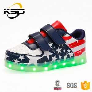Globe Top Selling Color Comfort Kids Party Favorite Shoes Christmas Promotion Casual Shoes pictures & photos