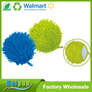 Single Side / Double Side Chenille Cleaning Glove (for Car, Household, Kitchen, etc) pictures & photos