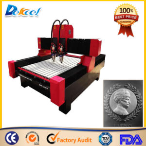 Dual Heads CNC Router for Granite Marble Stone Carving Machine pictures & photos
