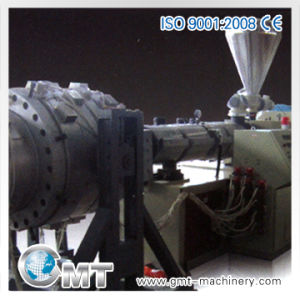 High-Output 16-63mm PVC Pipe Plastic Machine Line Extruder pictures & photos