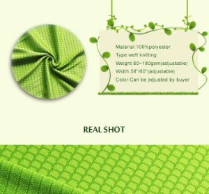 100% Polyester Knitted Mesh Honeycomb Net Fabric for Sportswear pictures & photos