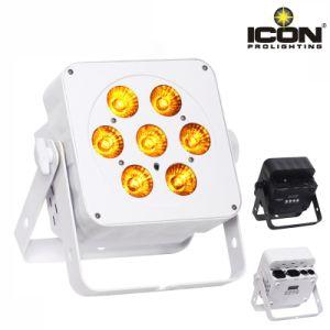 LED Digital Display Indoor RGBW 6in1 LED Flat PAR Light pictures & photos