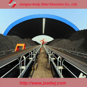 High Quality Long Span Space Frame Dry Coal Storage Shed Project pictures & photos