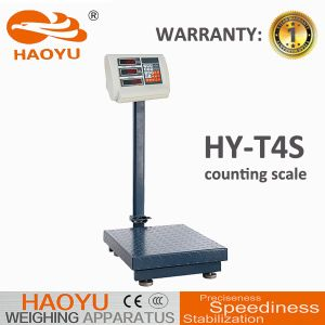 T4 Price Computing Indicator Carbon Steel Frame Platform Scale with High-Precision Sensor pictures & photos