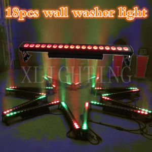 18*12W RGBW Bar LED LED Waterproof Power Dots Wall Washer Light pictures & photos