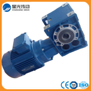 Helical Hypoid Spiral Bevel Gearbox with Motor pictures & photos