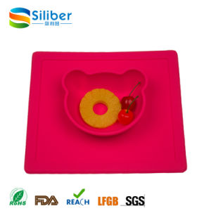 Factory Wholesale Silicone Baby FDA Approved Baby Placemat Non-Slip Silicone Table Mat Meal Mat