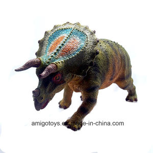 Awesome Plastic Dinosaur Filled with Cotton Toys for Promotional Collectional Gifts pictures & photos