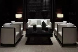 Luxury Antique Chinese Style Sofa Set for 5-Star Hotel pictures & photos