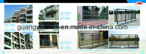Powder Coat Metal Security Fence pictures & photos