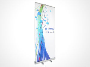 Display Stand Roll up Banner Poster Fabric with Printing pictures & photos
