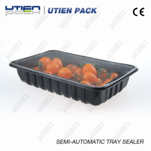 Manual Tray Sealer for Modified Atmosphere Fr-300 pictures & photos