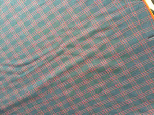 Red Lattice Wool Woolen Fabric pictures & photos