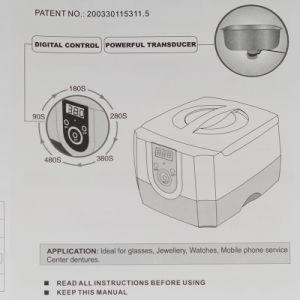 CD-4800 1400ml Popular Use Desktop Ultrasonic Cleaner pictures & photos
