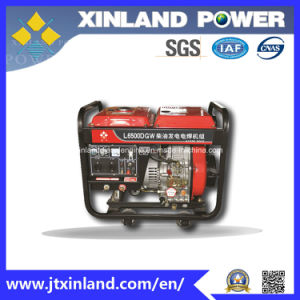 Single or 3phase Diesel Generator L6500dgw 50Hz with ISO 14001 pictures & photos