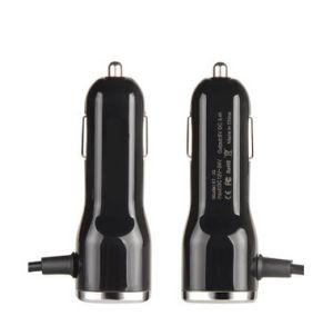 Dual USB Car Charger for Smart Phones with Ce FCC RoHS Certificates pictures & photos