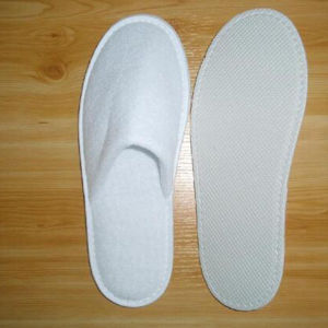 Polyester Slipper for Hotel SPA Indoor Slippers (DPF10332) pictures & photos