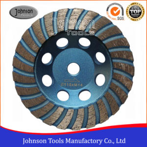 Od115mm Diamond Turbo Cup Wheel for Stone pictures & photos