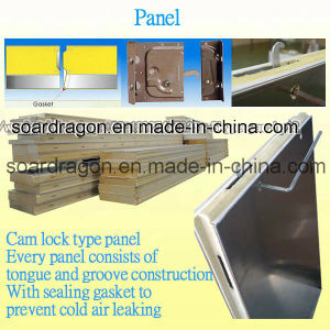 Cam Lock Easy Installation PU Panel Cold Room pictures & photos