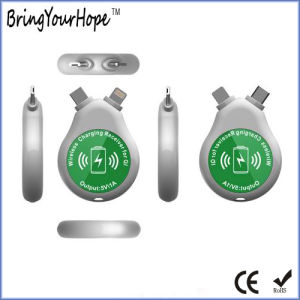 iPhone Android Type-C Use Mini Double Wireless Charger Receiver (XH-PB-051R2) pictures & photos