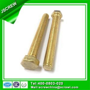 Non-Standard Customized Screw Hex Head Bolts M4 pictures & photos