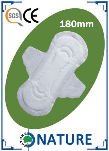 Day Super Thin Sanitary Towels with Flower Printing pictures & photos