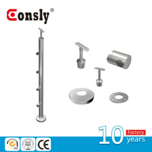 Asis 304/316 Indoor&Outdoor Balcony Handrail Baluster Post pictures & photos