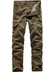 Men′s Cotton Long Cargo Pants pictures & photos