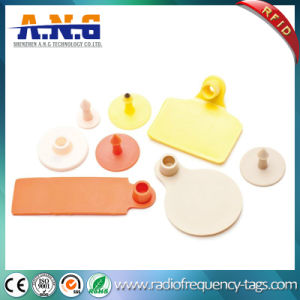 RFID Lf Animal Ear Tag for Cattle Tracking pictures & photos