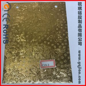 Factory Direct Sale Quick Sticking Thick Golden Household Aluminum Foil Wholesale pictures & photos