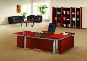 Modern MFC Laminated MDF Wooden Office Table (NS-NW195) pictures & photos