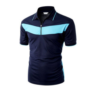 China Custom Cheap High Quality Mens Cotton Polo T-Shirt pictures & photos