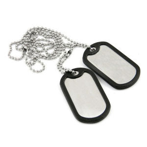 Stainless Steel Dog Tag with Ball Chain pictures & photos