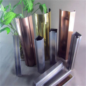 Gold Super Mirror Decorative Stainless Steel Corner Guard pictures & photos