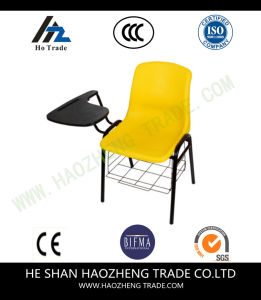 Hzpc180 Tablet Arm Office Plastic Stacking Chair pictures & photos