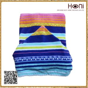 China Supplier Colorful Printed Kids Poncho