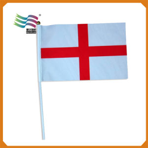 Factory Directly Selling Custom Made Politic Election Hand Print Flag pictures & photos