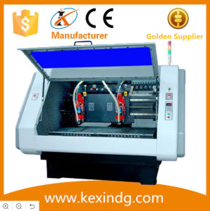 2 Spindles 0.1~10mm Drill Hole Depth Fully Automatic PCB Drilling Routing Machine pictures & photos
