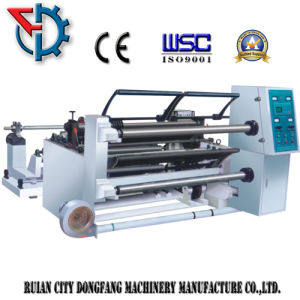 Adhesive Paper Slitting and Rewinding Machine (QFJ-1100) pictures & photos