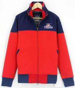 2017 New Design Wholesale Custom Men Softshel Bondedl Zip Through Jacket Top Clothing
