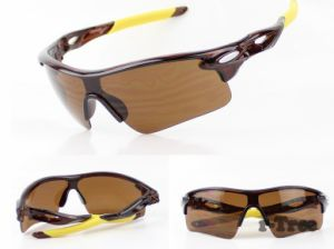 Anti-UV Cycling Glasses Men Plastic Sports Eyewear Bicycle pictures & photos