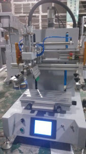 TM-300PT Automatic Desktop Flat Textile Screen Printing Machine with T-Slot pictures & photos