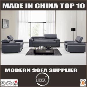 Modern Group Leisure Leather Sofa Set for Livingroom pictures & photos