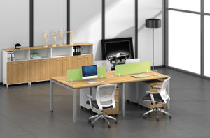 Office Furniture Metal Steel Office Staff Workstation Table Frame with Ht03-3 pictures & photos
