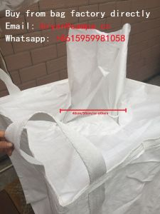 FIBC Jumbo PP Woven Super Big Bulker Bag Cement Packaging pictures & photos