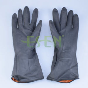 Newly Natural Latex Household Gloves for House Cleaning/Household Latex Gloves/Household Rubber pictures & photos