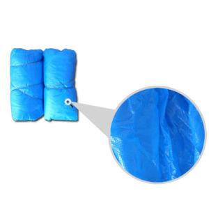 CPE Plastic Disposable Shoe Cover pictures & photos