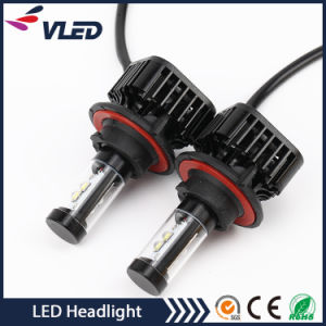 H13 4000lumens 40W 6000k LED Headlights for Cars pictures & photos